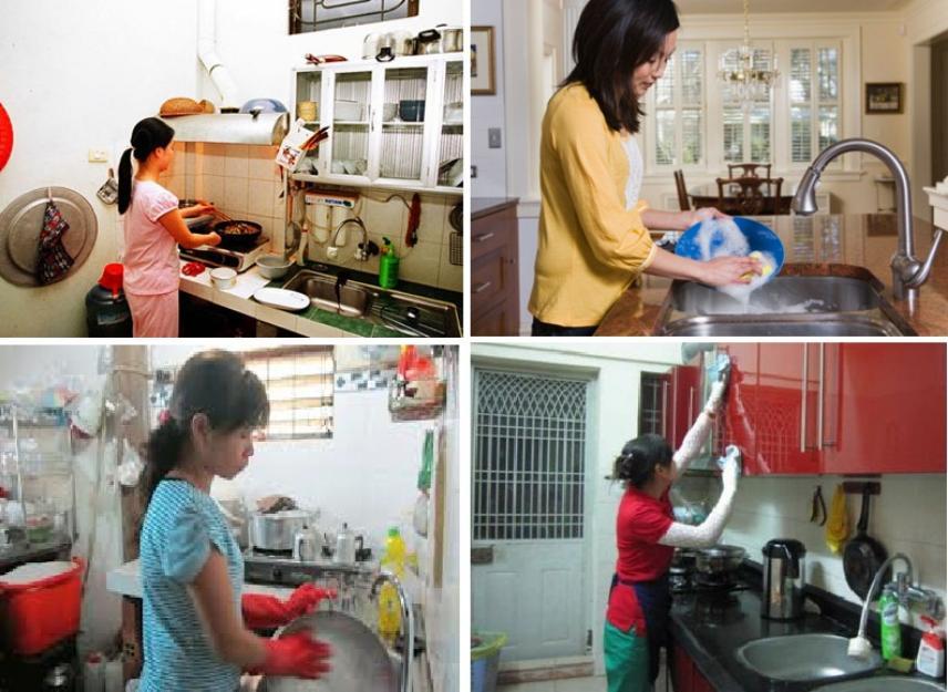 Kết quả hình ảnh cho dịch vụ nội trợ gia đình